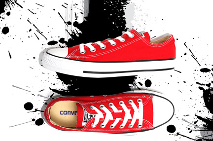 Dress It Up! – Converse Sneakers
