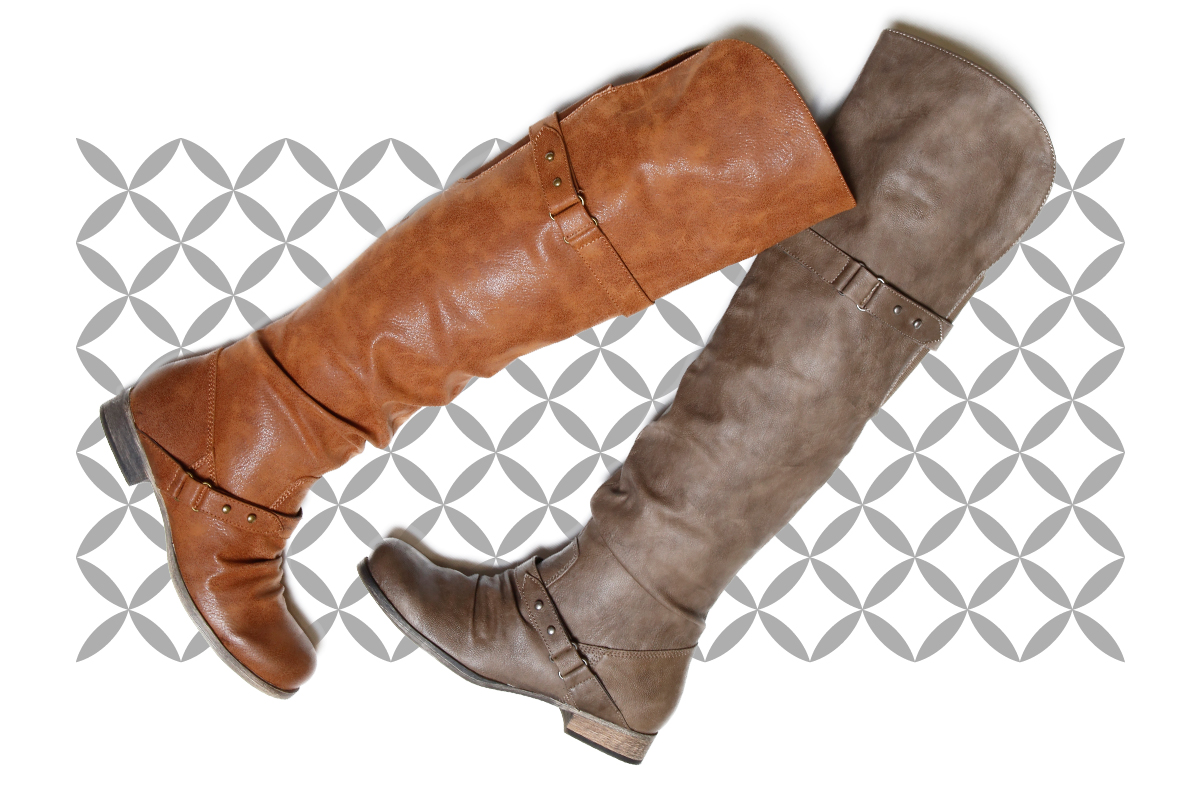 "Forever a staple fall casual boot, tall riding boots help to pull together in the most chic, effortless way possible. Not only are these SoftMoc ""Bobbi"" boots stylish, but the grey and tan colours are staple neutral colours that were hot last season and will continue to be staples for seasons to come."