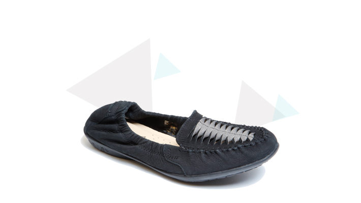 Hush Puppies - Lydia Ceil Moc Black