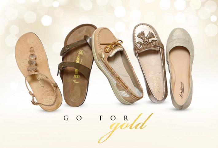 Dress It Up: Go for GOLD