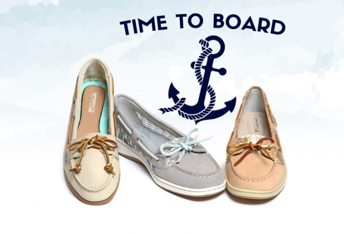 Time To Board: Sperry Boat Shoe Collection