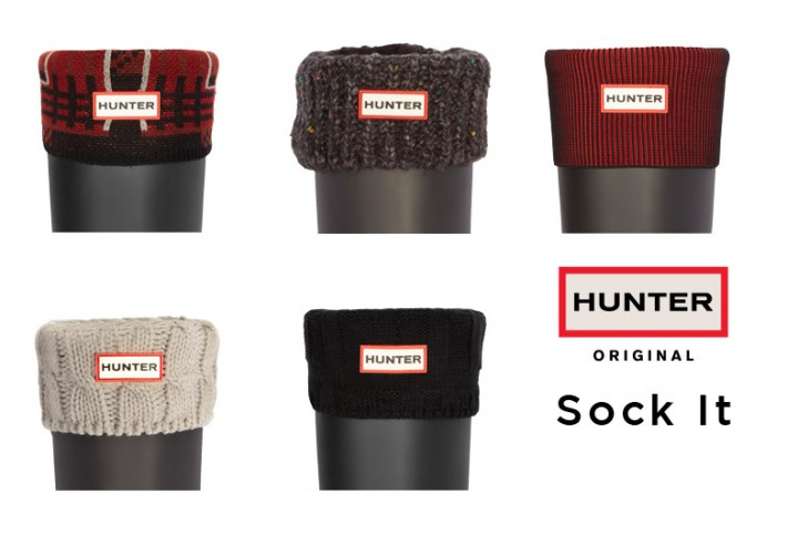 Hunter Boots: Sock It